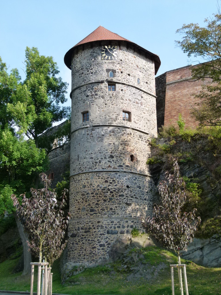 Cheb castle tower