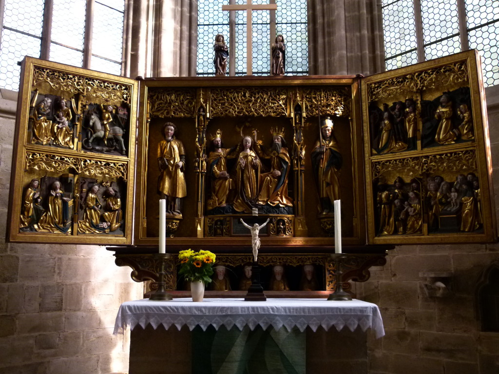 altar piece, Leibfrau Church