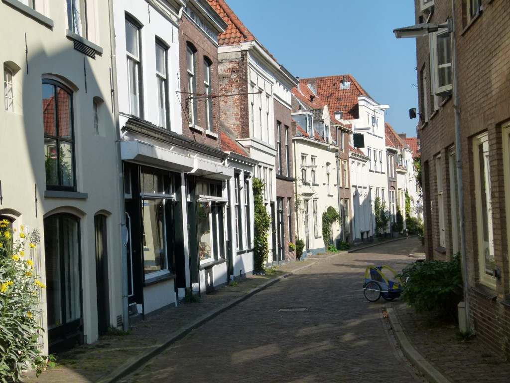 small street in Zutphen