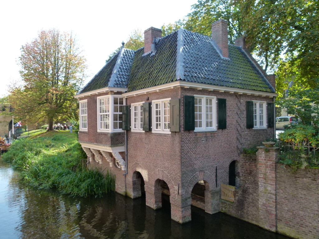 the Lion house on the canal, Zutphen