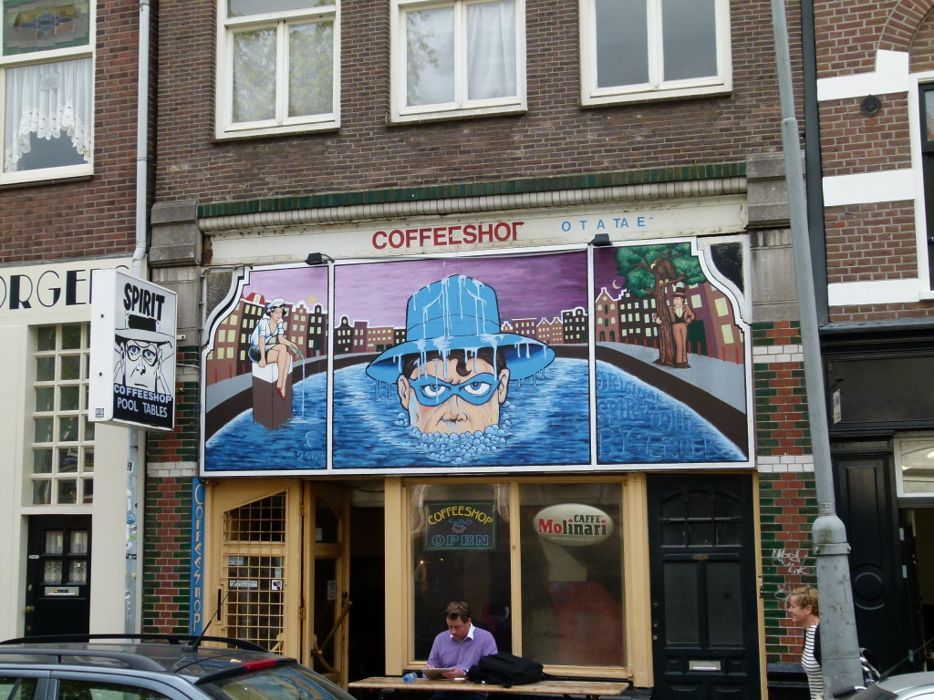 Coffee? shops everywhere