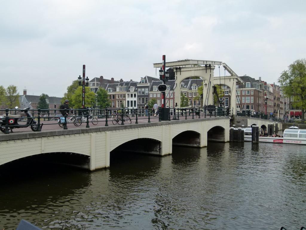Magere bridge or skinny bridge.