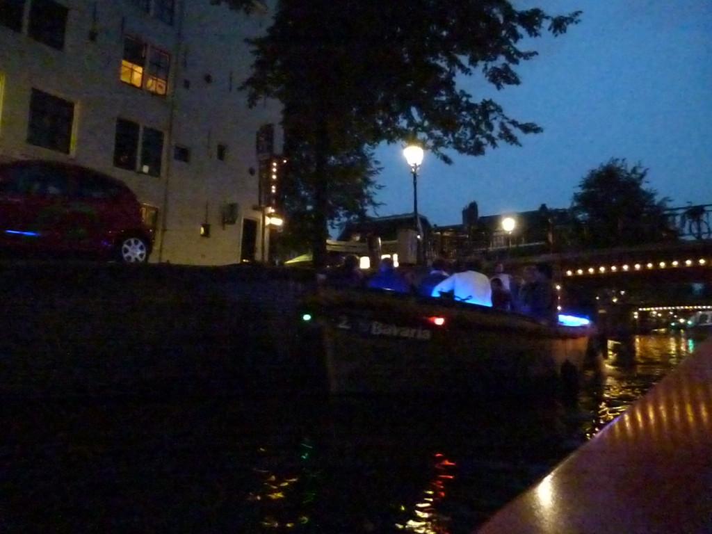Amsterdam by night cruise