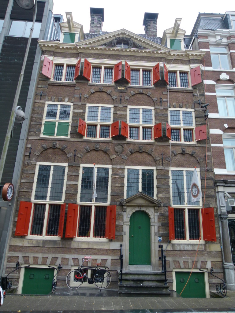Rembrandt House museum, where he lived and worked for 20 years