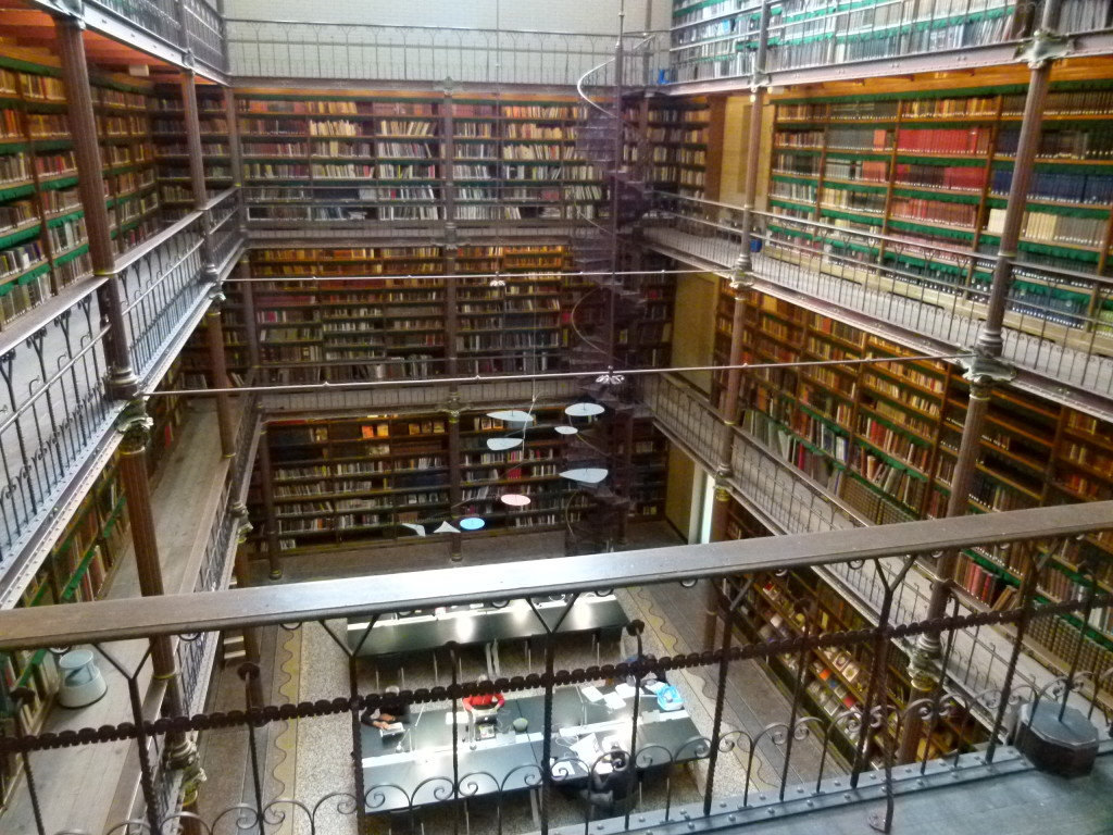 The Library in the Rijksmuseum
