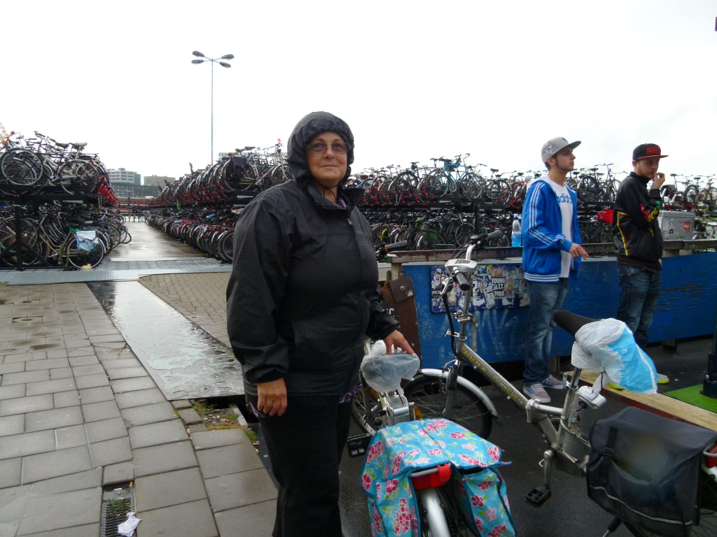 Braving the Dutch weather