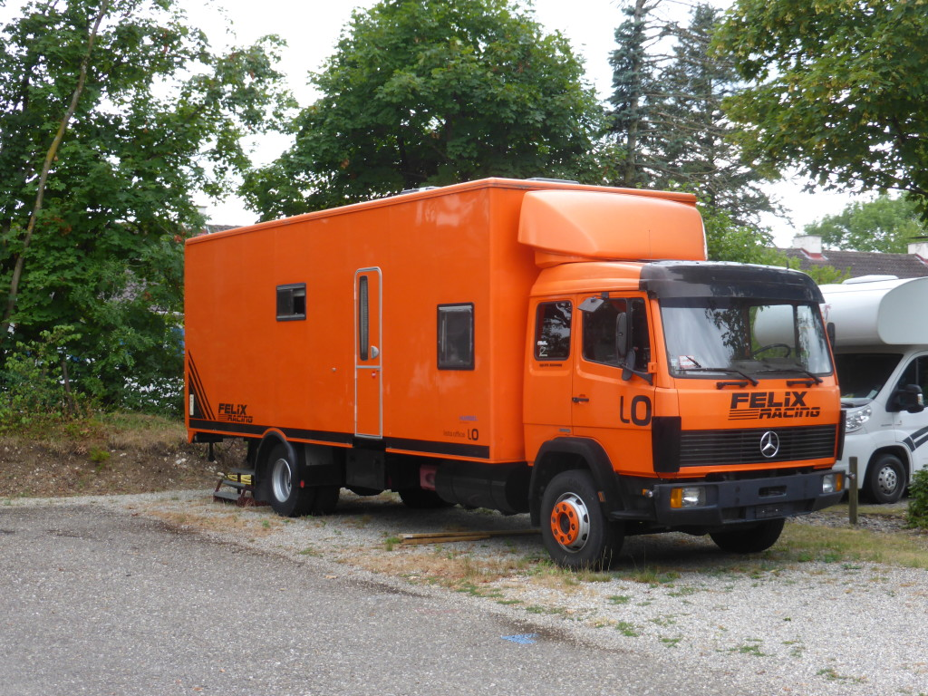 Another truck conversion. Very popular with the French.