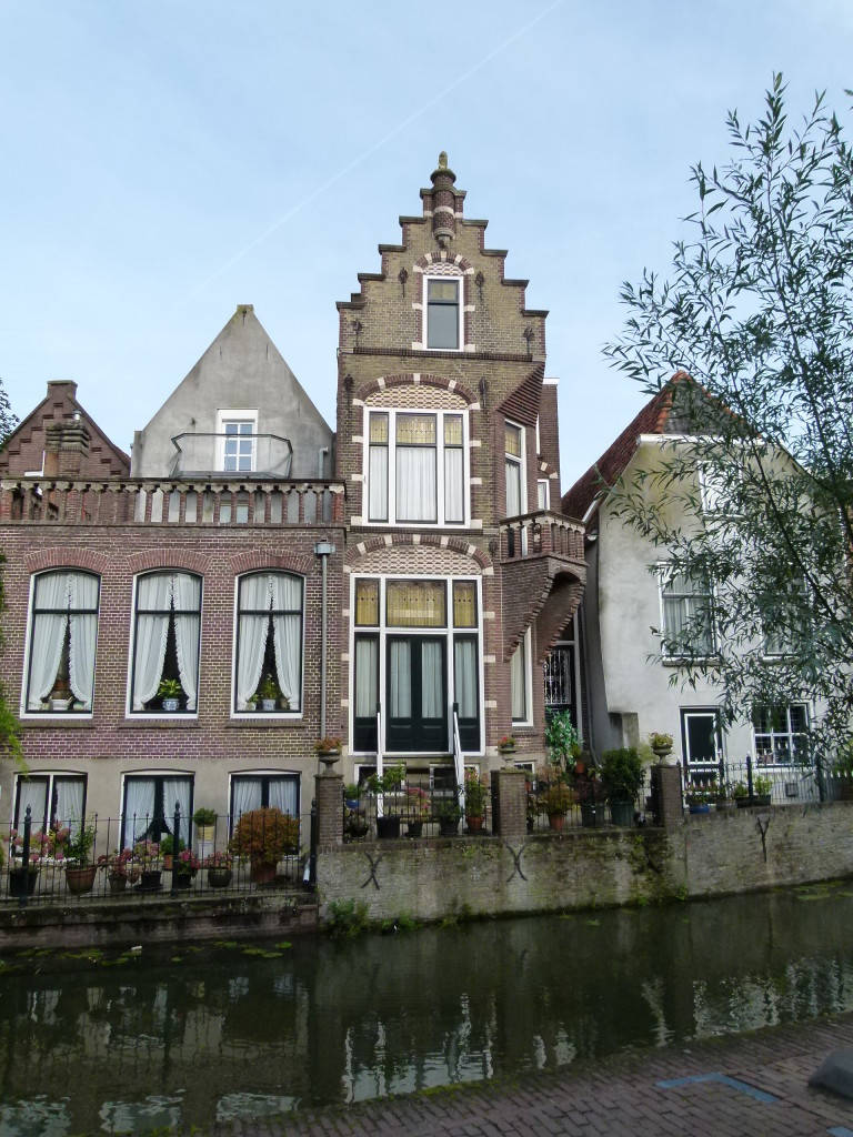 View across the canal at Oudewater.