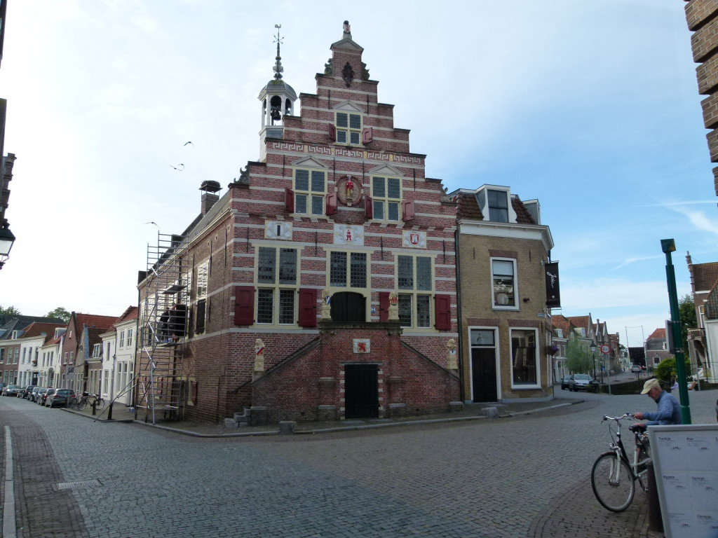 The town hall in Oudewater.