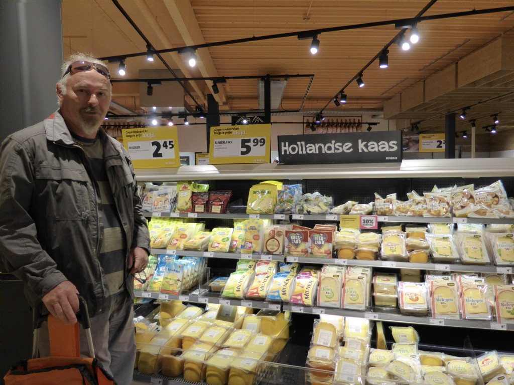 Yes we are in Holland. The cheese capital of the world.