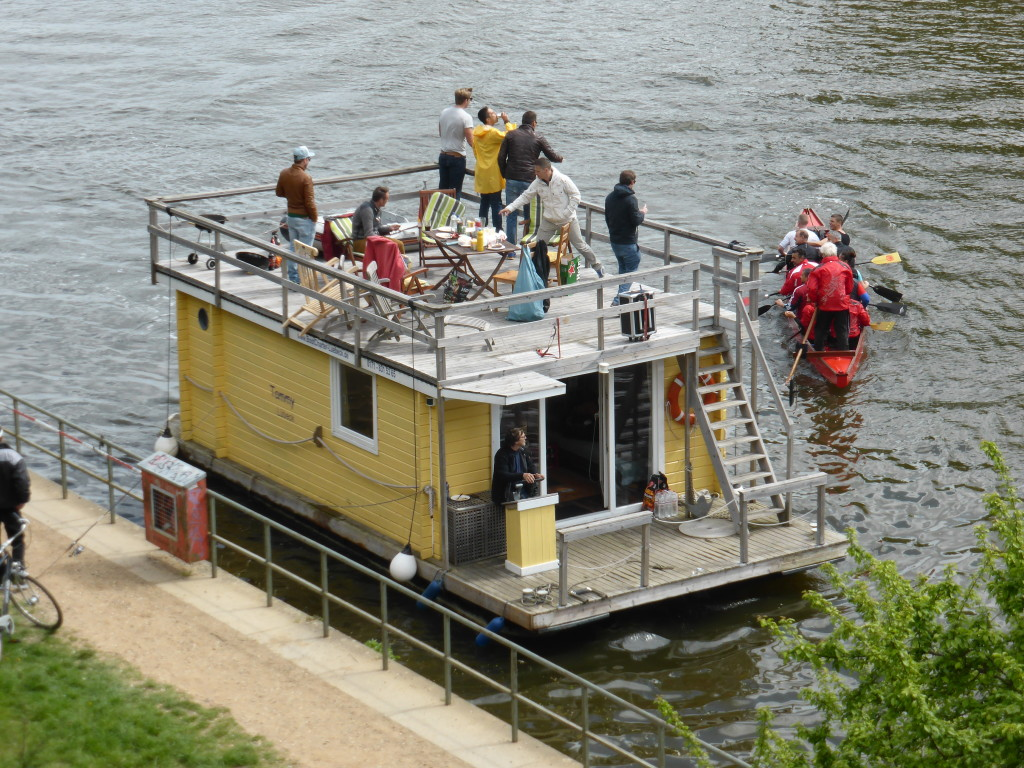 A party house boat. I think the only one that was sober was the driver.