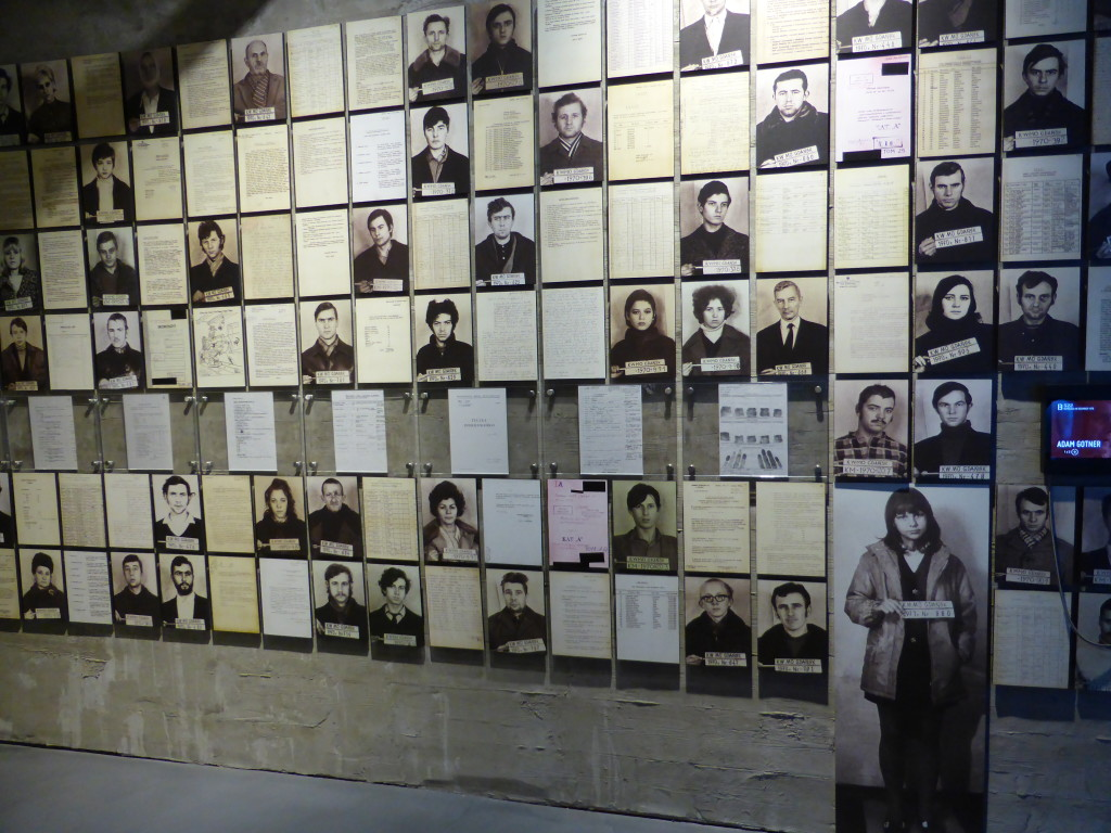 Inside the Solidarity  Museum.