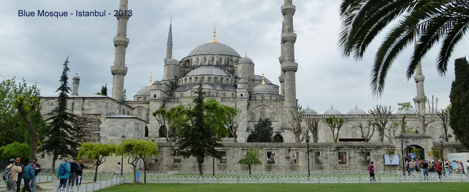 Blue Mosque w