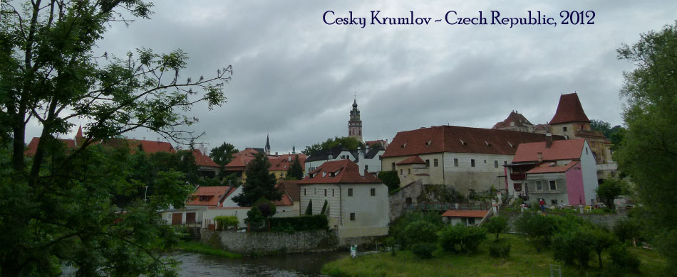 Cesky Krumlov day