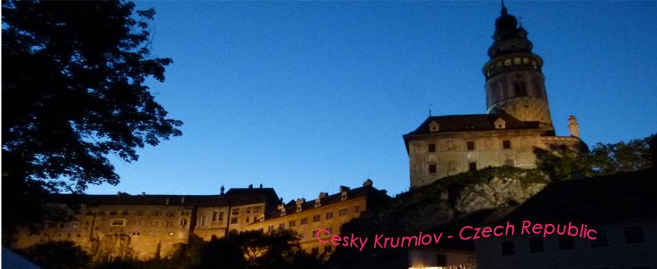 Cesky Krumlov night copy
