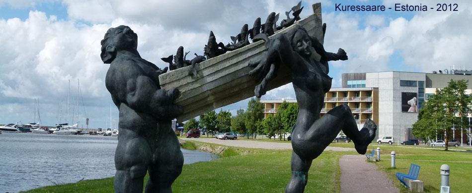 Estonia Statue
