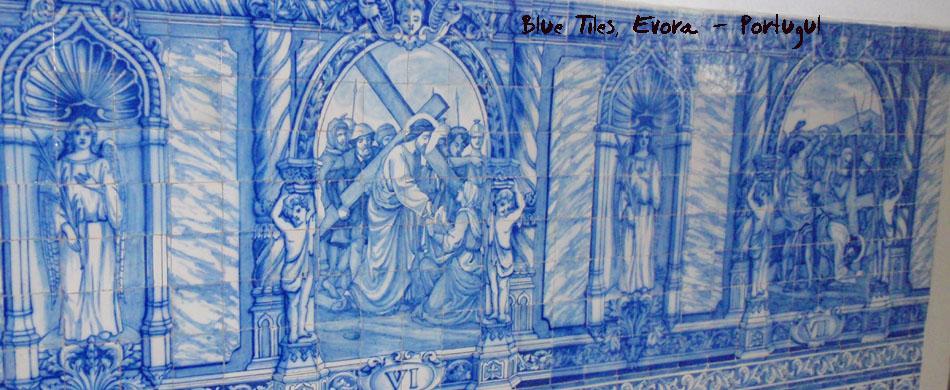 Evora - blue tiles