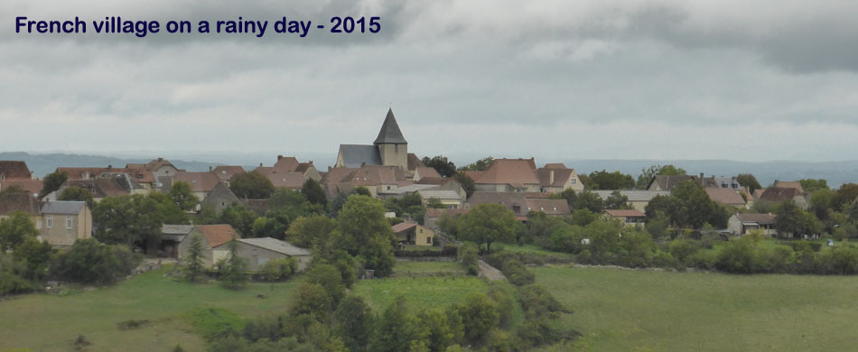 French village 2015