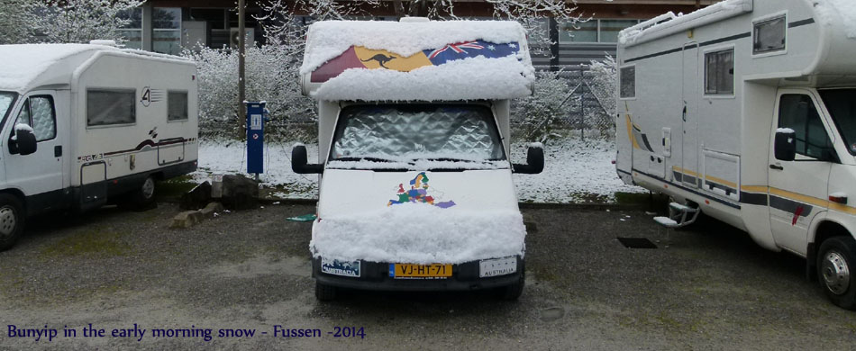 Fussen snow