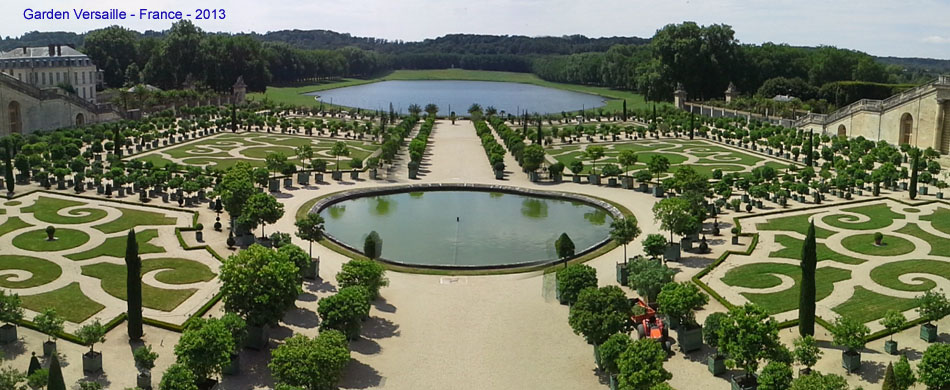 Garden Versaille w