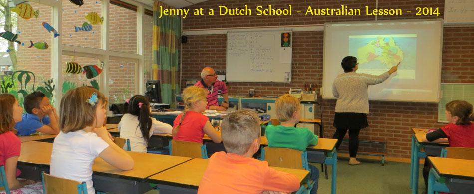Jenny at school