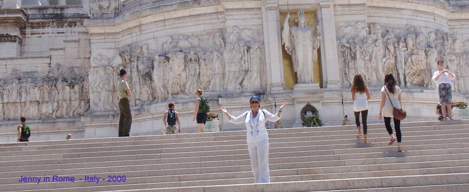 Jenny in Rome w