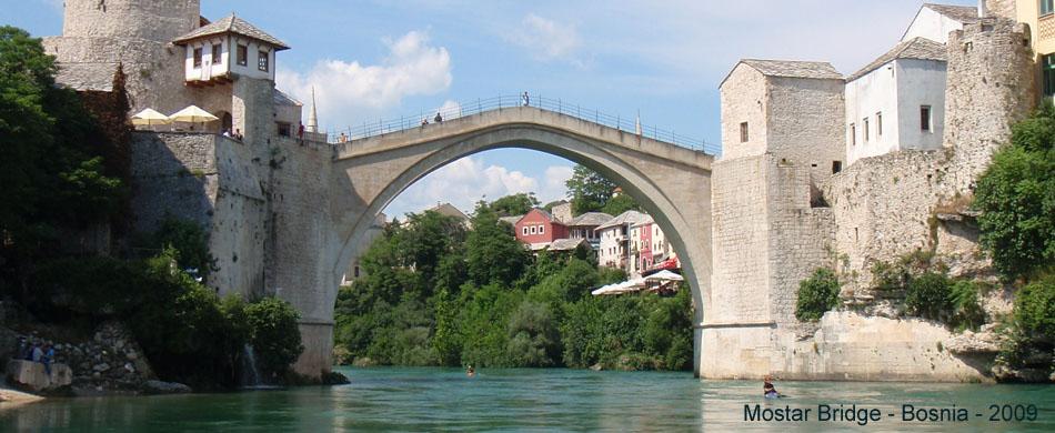 Mostar Bridge w