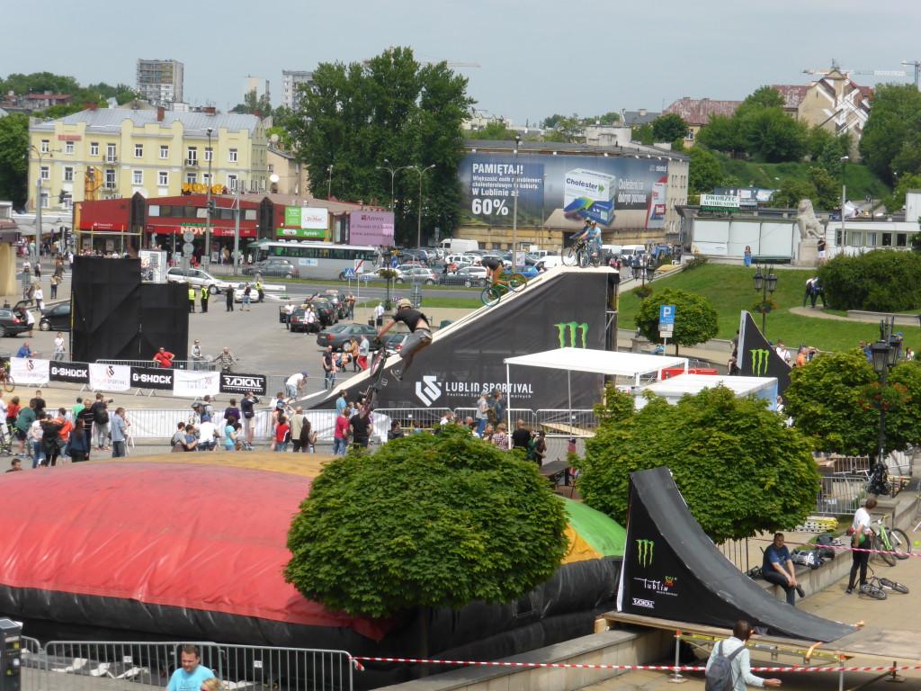 BMX competition.