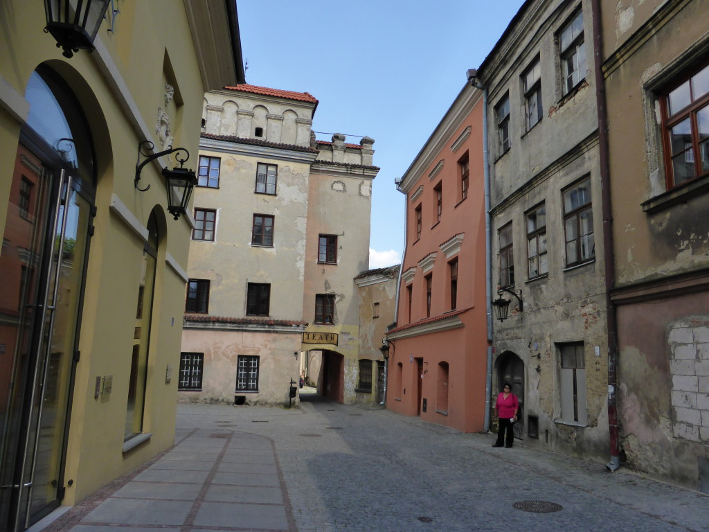 This could have been a movie setting. Just off the main square in Lublin.