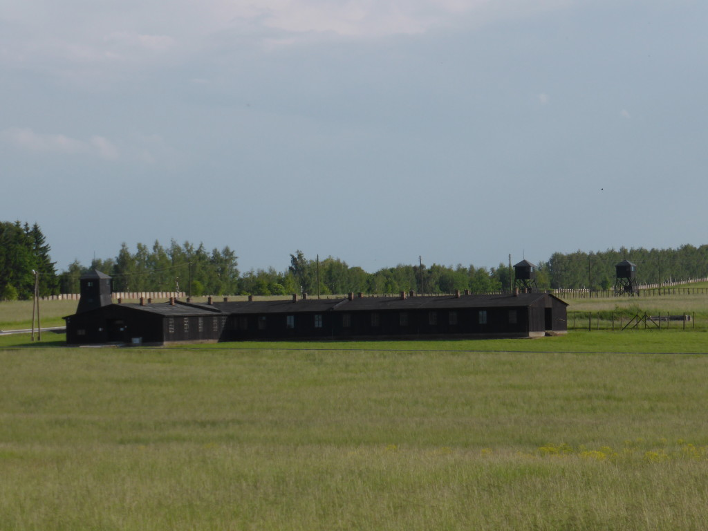 From the road you can see the Majdanek Concentration Camp. It is not far out from the town.