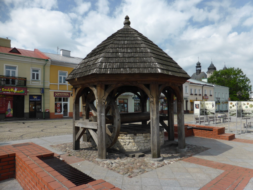 The well in the centre of Chelm.