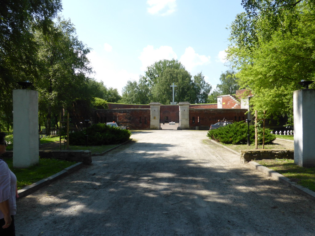 Entrance to the Rotunda at Zamosc.