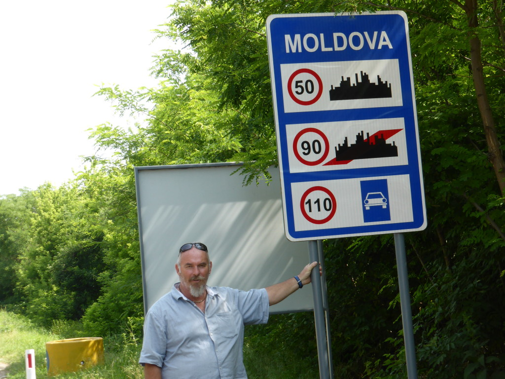 Well we made into Moldova. At the border crossing we almost didn't get in.
