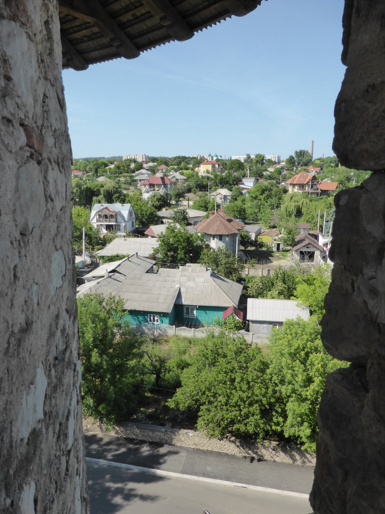 View of the town from the fortress.