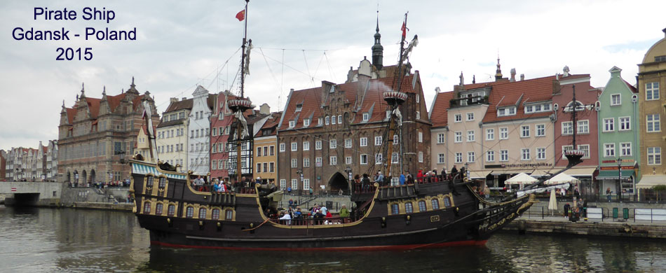 Pirate ship - Gdansk