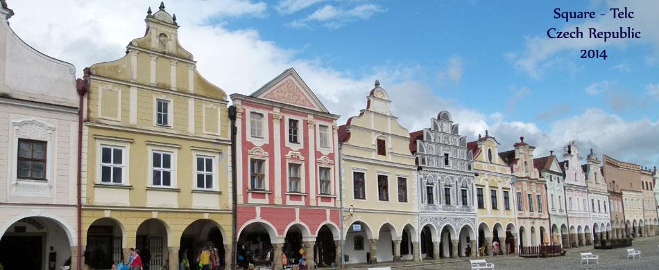 Telc square