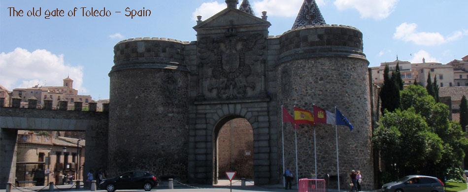 Toledo gate spain