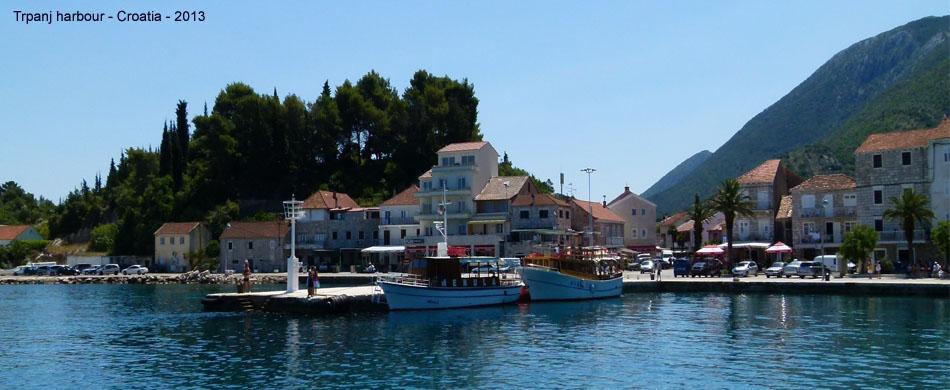 Trpanj harbour w
