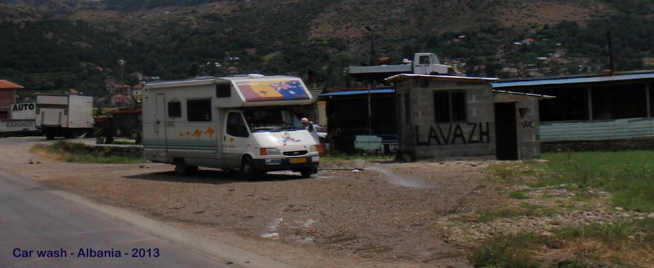 car wash Albania