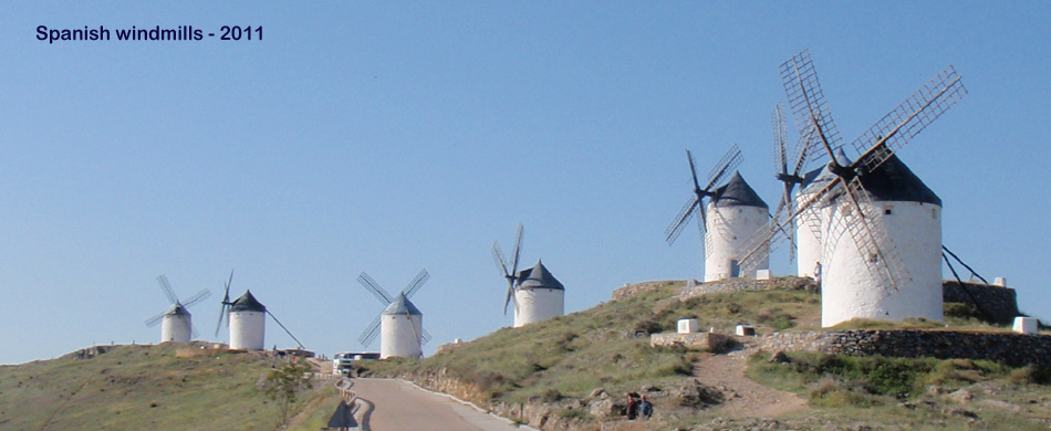 spanish windmills