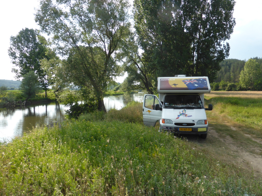 Another great spot next to a river. We seem to be making a habit of staying next to water.