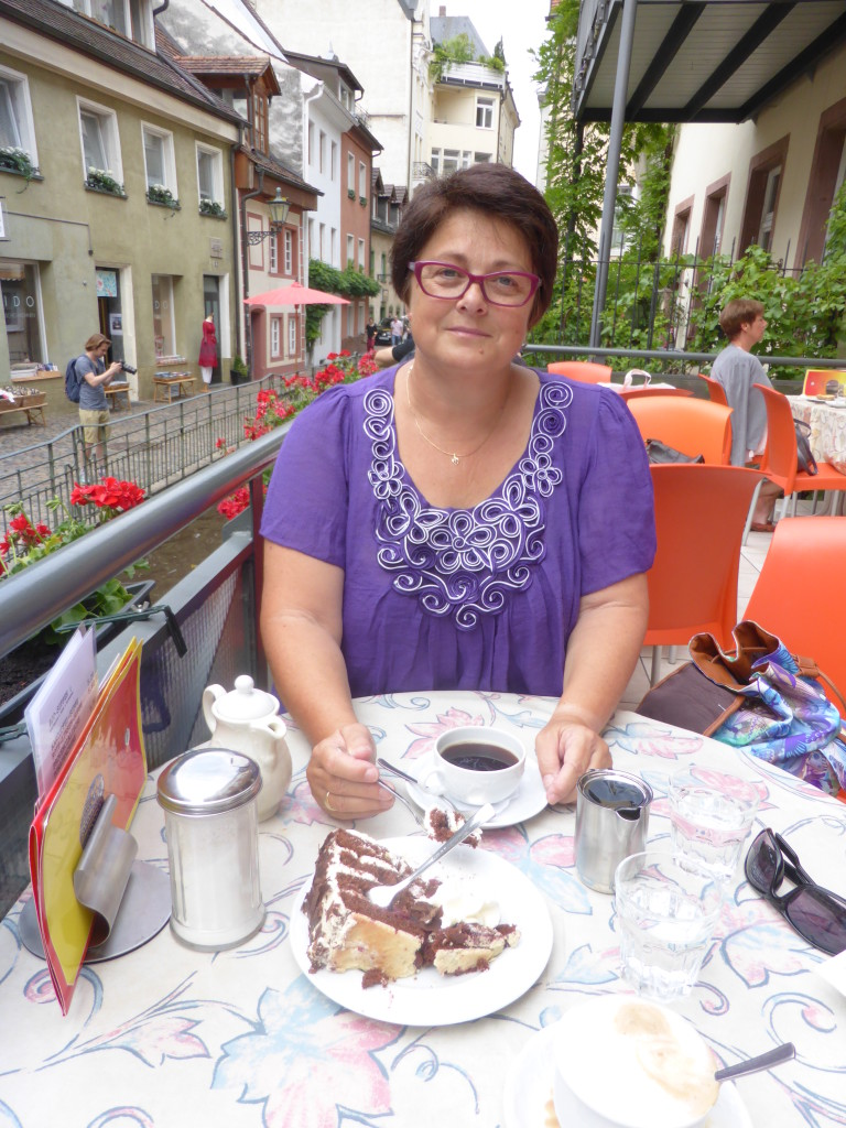 We had to have some blackforest cake as we were in the region. It was very yummy!