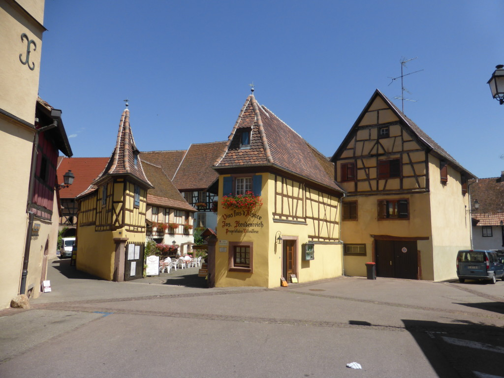 We visited Eguisheim as it was reported as one of the prettiest villages in France.