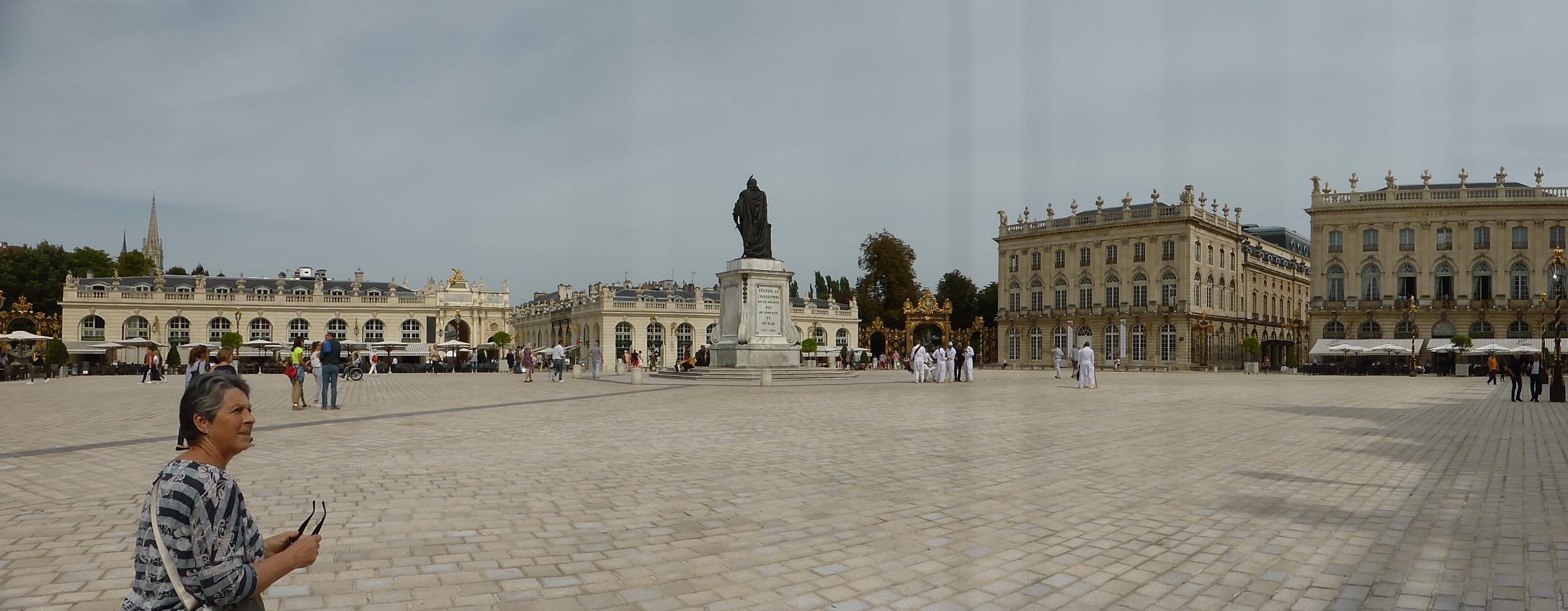The Stanislas Square in Nancy.