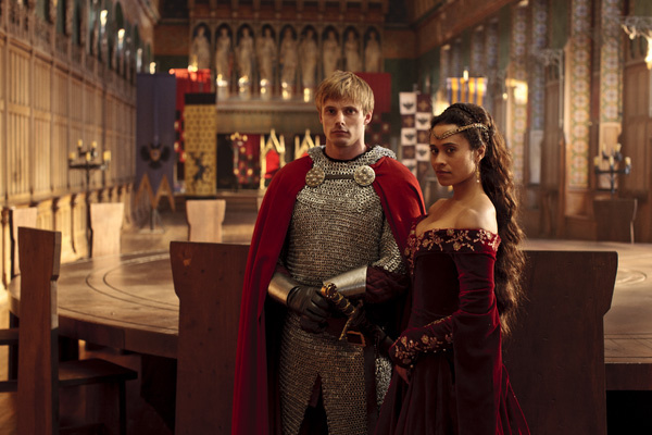 Scene from the TV series Merlin. [Courtesy google images]
