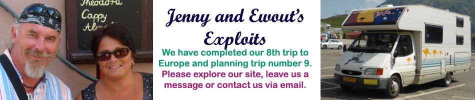 Jenny & Ewout's Adventures